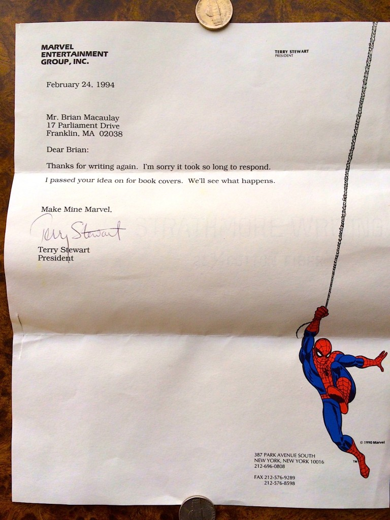 February 12, 1994 letter